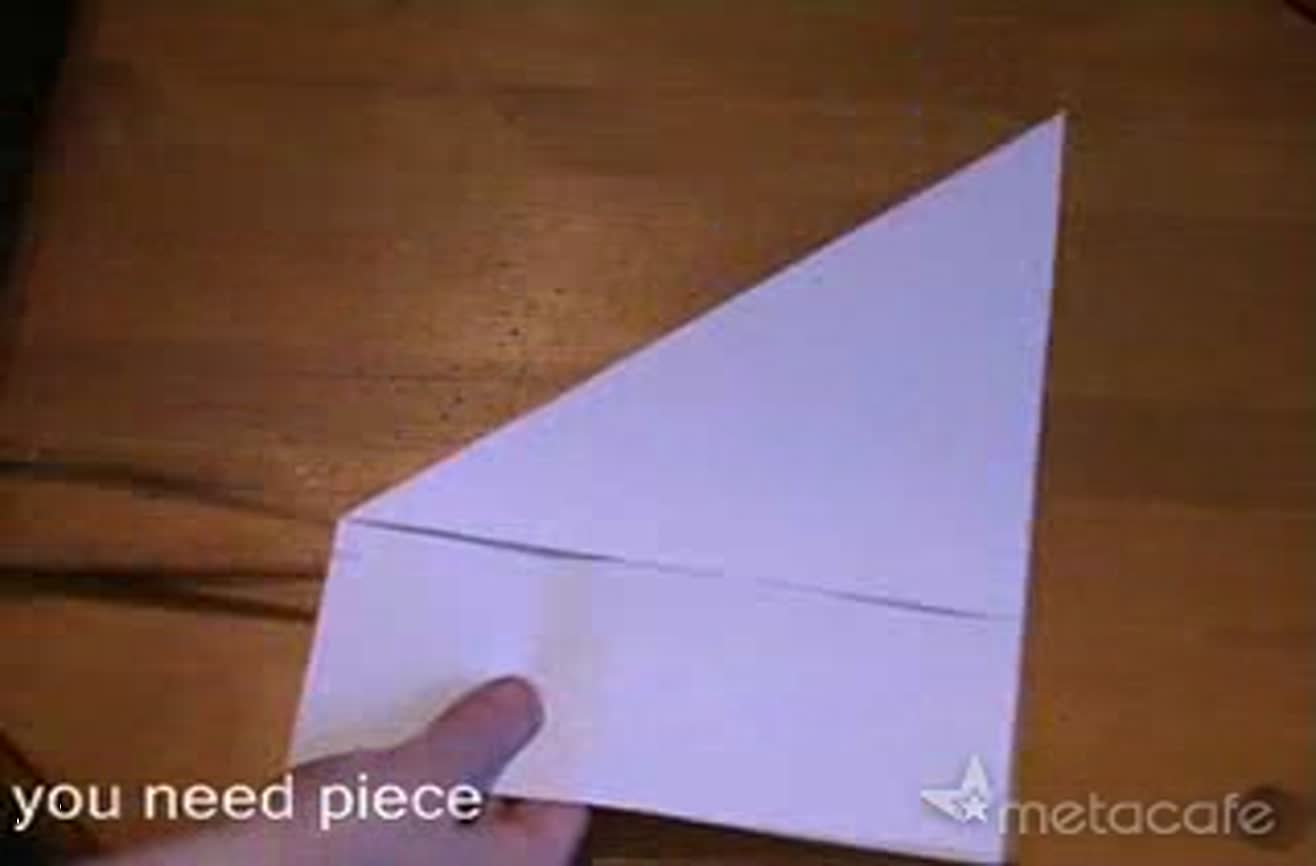 How to make a toy with a small piece of paper