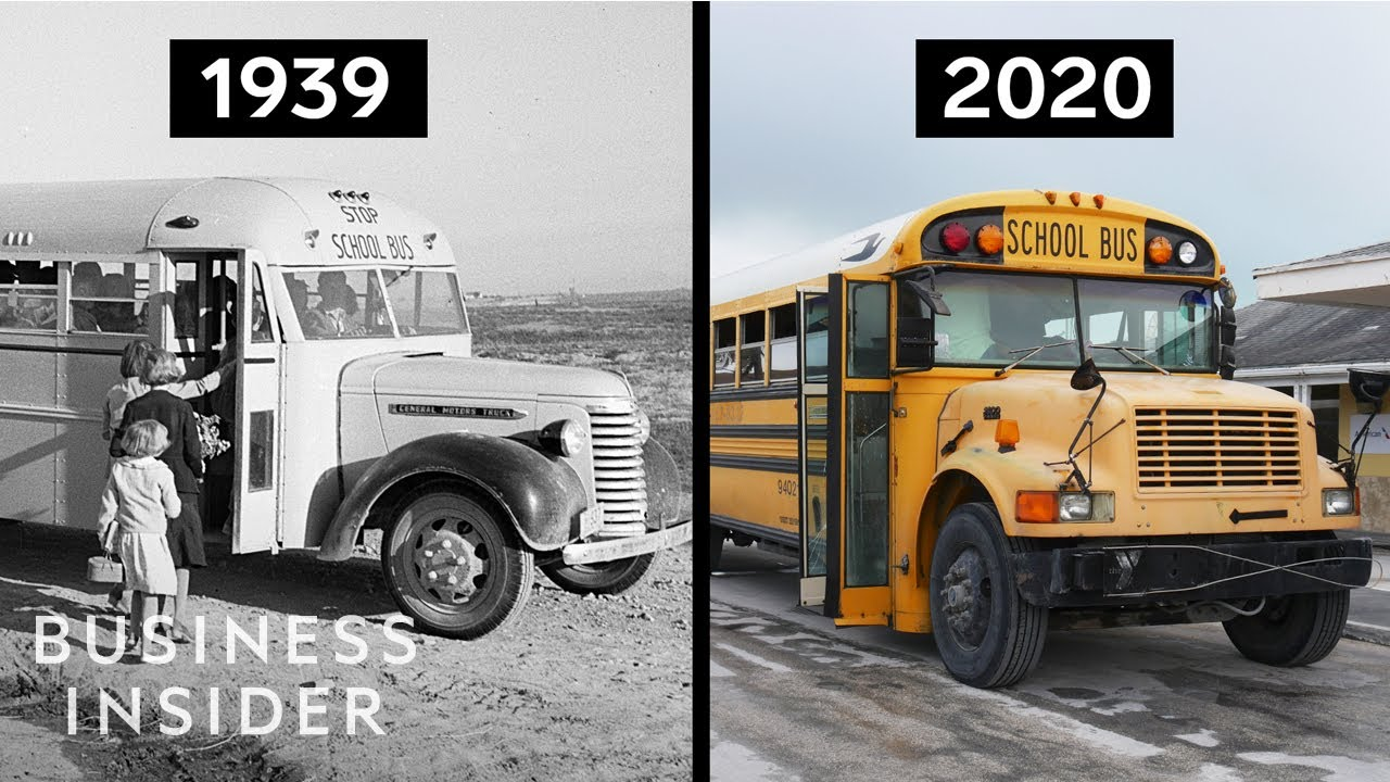 Why do school buses still look the same for all these years?